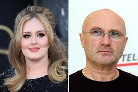 Adele Phil Collins Album Fight