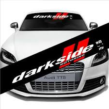 Car Front Reflective Windshield Vinyl Decal Window Banner For Darkside Sticker Ebay