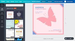 Disena Invitaciones De Mariposas Online Gratis Canva