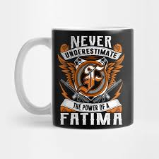 personalized name gift fatima mug