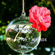 countries 8cm hanging glass bubble
