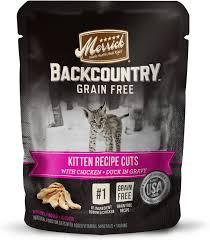 merrick backcountry grain free kitten