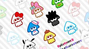 splatoon 2 sanrio characters wallpaper
