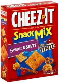 cheez it sweet salty snack mix 8 oz