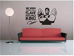 Amazon Com Wall Sticker Vinyl Wall Decal Hip Hop Rap Wutang Clan Music Room Decoration Wall Sticker Home Living Room Bedroom Wall Sticker 102x57cm Kitchen Dining