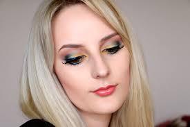 bright yellow spring makeup tutorial