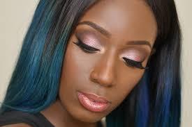 bridal makeup for um brown skin