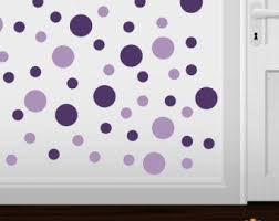 Purple Wall Decals Etsy