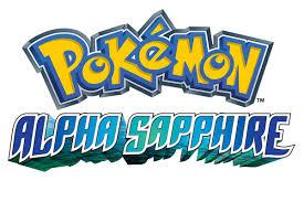 Alpha Sapphire Logo | Omega ruby alpha sapphire, Pokemon omega ...