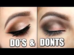 eyeshadow do s and don ts you