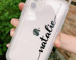Iphone Decal Etsy