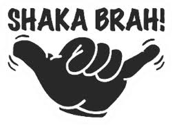 Shaka Sign Car Stickers Decals Customizable Vinyl Stickers