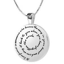 sterling silver best friend quotes necklace infobarrel