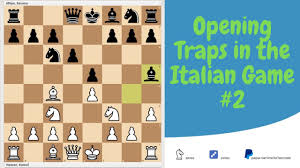 Opening Traps in the Italian Game. #2 ...