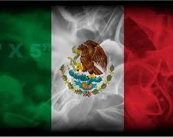 Mexico Flag Decal Etsy