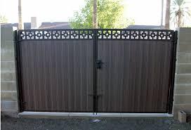 Rv Gate Installation Phoenix Home Gate Design Yard Gate Wood Fence Design