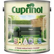 Cuprinol 2 5l Garden Shades Paint Sage Leekes