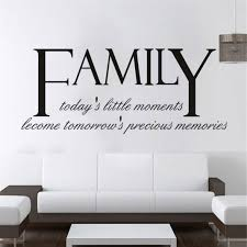 Woaills Hot Sale Mural Art Home Decor Wall Stickers Family Diy Family Removable Wall Decal Family Hom Family Wall Quotes Wall Stickers Bedroom Word Wall Decor
