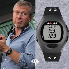 Roman Abramovich Polar Heartrate Pulse Watch -