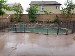 Removable Pool Child Safety Fence Installation More Aqua Safe