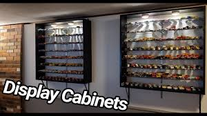 model car display cabinets