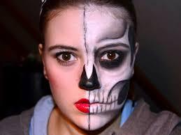 30 amazing halloween half face makeup
