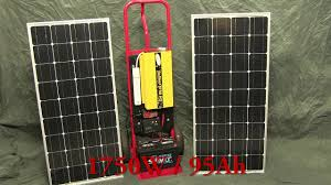 diy off grid solar generator rev 1