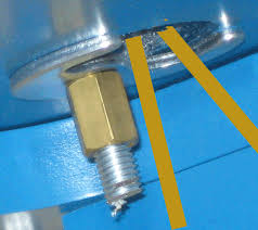 fitting a monoblock or mixer tap and
