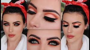 pin up fall makeup tutorial you