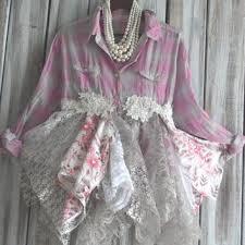 romantic country chic tunic dress boho