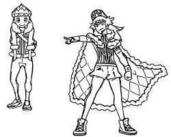 Kleurplaat Pokemon Sword En Shield De Mensen In De Regio Galar