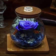 preserved rose light bottle apollobox