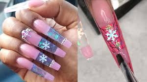 The Best Nail Art Designs Compilation On Youtube Acrylic Nails Polygel Nails Youtube