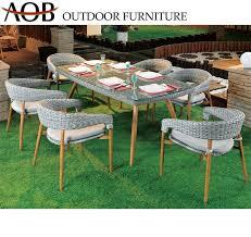 outdoor furniture round wicker