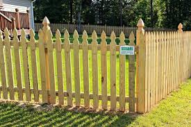 Rocky Mount Seegars Fence Company Privacy Chain Link Fence Installation