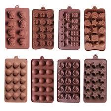 10 Cái/bộ Khuôn Silicon Cho Chó Hoa Kẹo Bánh Trang Trí Dụng Cụ Bánh Biscuit  Bánh Ngọt Dạng Kẹo Dẻo Khay Đá Dành Cho Trẻ Em tự Làm Bánh|bánh khuôn