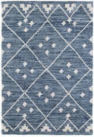 kota woven wool rug slate