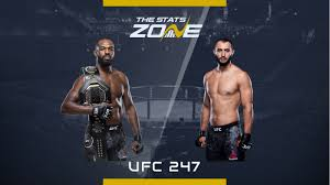 Jon Jones vs Dominick Reyes at UFC 247 ...