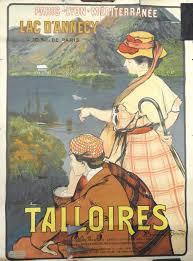 BESNARD Albert (1849-1934). - PLM. TALLOIRE. «Lac d'Annecy». Vers ...
