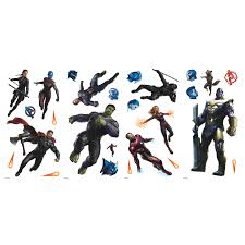 Avengers Endgame Peel And Stick Wall Decals Walmart Com Walmart Com