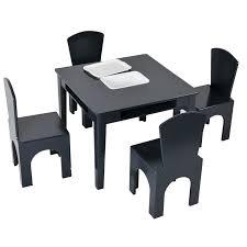 Harriet Bee Danner Kids 5 Piece Writing Table And Chair Set Reviews Wayfair