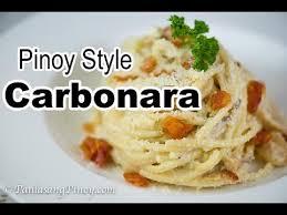 filipino carbonara recipe