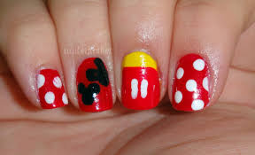 Disney Gel Nail Designs - 2017-2018 Fashion Trend - Nails Pix