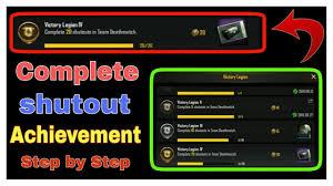 Achievement in Team Deathmatch PUBG ...