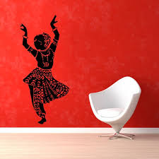 Shop Belly Dance Girl Dancer Gym Dance Studio Vinyl Sticker Home Interior Design Art Mural Wall Sticker Decal Size 22x35 Color Black Overstock 14529815