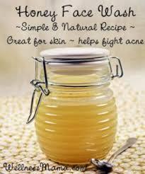 honey face mask wash recipe diy