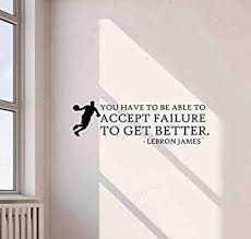 Amazon Com Lebron James Wall Decal Quote Poster Gift Vinyl Sticker Basketball Decor Art 668 Baby