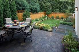 small backyard landscape easy
