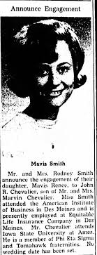 Smith, Mavis, Postville Herald,Postville, Iowa, Jan 17 1968, Pg 7 -  Newspapers.com