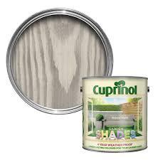 Cuprinol Garden Shades Natural Stone Matt Wood Paint 2 5 Departments Diy At B Q